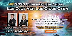 """2020 Conferencia Mundial Voz de la Luz """"Los Ojos Ven..."""