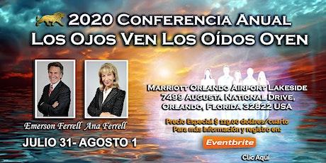 """2020 Conferencia Mundial Voz de la Luz """"Los Ojos Ven los Oidos Oyen"""" tickets"""