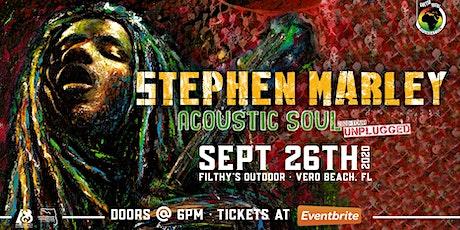 "STEPHEN MARLEY ""Acoustic Soul Tour"" - VERO tickets"