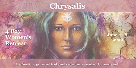 CHRYSALIS - a 4 day women's retreat tickets