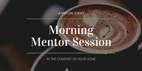 """District Hall's VIRTUAL Monthly""""More Than Coffee"""" with Mentor Sessions tickets"""