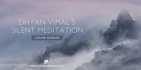 Online DV Silent Meditation Berlin Sessions  tickets