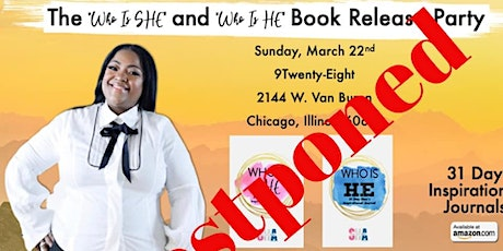 The 'WHO is SHE' & The 'WHO is HE' Book Release Party tickets