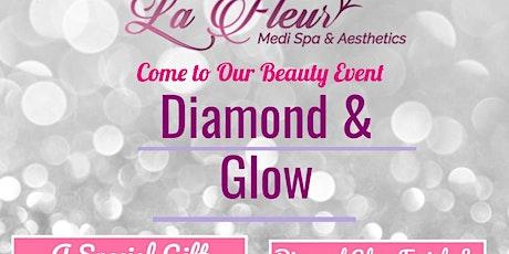 Diamond & Glow Facial Event - Postponed tickets