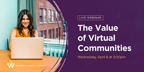 The Value of Virtual Communities tickets