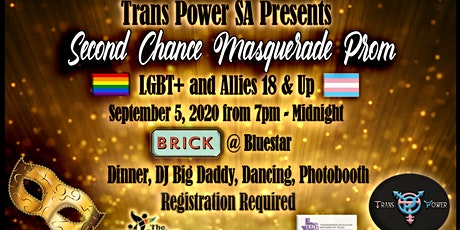 2nd Chance Masquerade Prom for LGBTQ+ and Allied Adults 18+ tickets