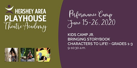 Kids Camp Jr.— Bringing Storybook Characters to Life! Grades 1-3 tickets
