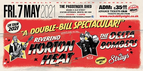 Reverend Horton Heat + Delta Bombers & Support from The Strays tickets