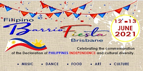 2021 Filipino BARRIO FIESTA BRISBANE tickets