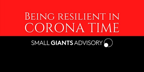 Being Resilient In Corona Time Webinar tickets