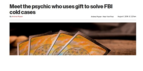 Psychic Investigation Workshop hosted by Psychic Detective Troy Griffn tickets