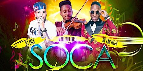 SOCA STRINGS tickets