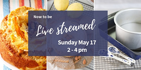 Live stream - Baked Treats Plant Based Vegan Baking Workshop tickets
