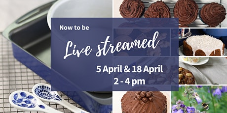 Now to be live streamed Plant Based Vegan Cake Baking Workshop tickets