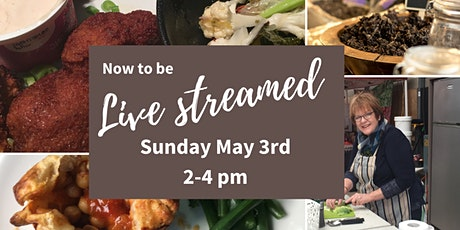 Live Streamed - Sauce up Dinner - a Plant-based Vegan Cooking Workshop tickets
