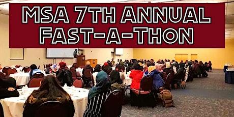 MSA 7th Annual Fast-a-thon (POSTPONED) tickets