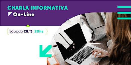 Vaga-Mundo Charla Informativa ONLINE entradas