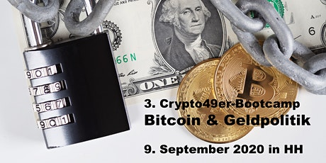 Crypto49ers-Bootcamp - Bitcoin & Geldpolitik in Hamburg tickets
