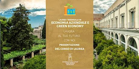 Economia Aziendale e Green Economy:presentazione online del corso di laurea biglietti