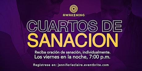 Reciben Oración individual de Sanación (Cuartos de Sanción En Espanol) tickets