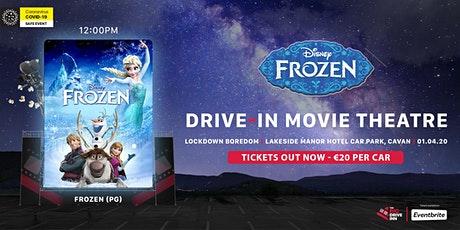 The Big Drive-Inn - Frozen (PG) - Drive-in Theatre tickets