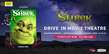The Big Drive-Inn - Shrek (PG) - Drive-in Theatre tickets
