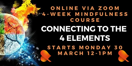 Connecting With the 4 Elements: Individual Sessions: Online tickets