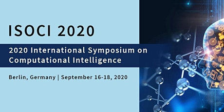 2020 International Symposium on Computational Intelligence (ISOCI 2020) tickets
