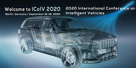 2020 International Conference on Intelligent Vehicles (ICoIV 2020) Tickets
