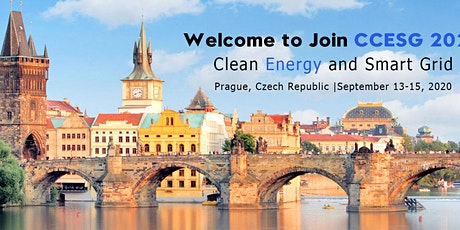 2020 3rd International Joint Conference on Clean Energy and Smart Grid(CCESG 2020) tickets