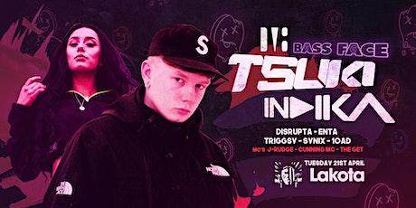 TSUKI, INDIKA, Disprupta, ENTA... // Bass Face Opening Session tickets