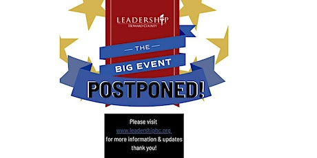 (Currently Postponed) The Big Event 2020 - Leadership Howard County tickets