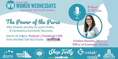 The Power of the Purse - Women are KEY to Local Vitality. tickets