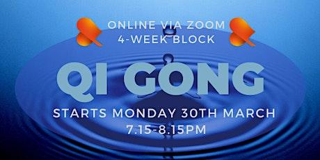 Qi Gong: 4-Week Block - Online tickets