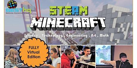 VIRTUAL  - STEAM Minecraft Night (4/17) tickets