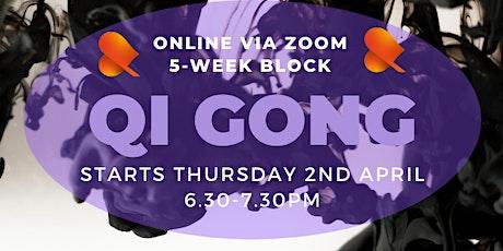 Qi Gong: 5-Week Block - Online tickets