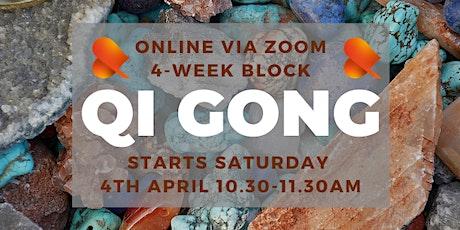 Qi Gong - 4-Week Block - Online tickets