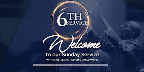 Heartfelt International Ministries :  6th Sunday Service tickets