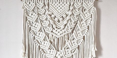 Macrame large wall hanging workshop - ALL DAY tickets