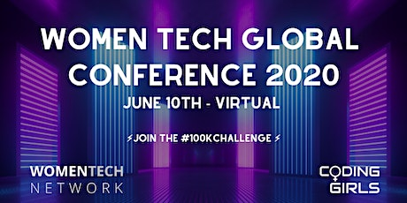 WomenTech Global Conference 2020 (US Central Time) tickets