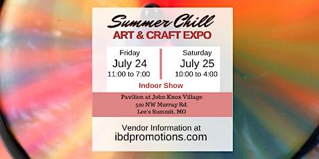 Summer Chill Art & Craft Expo tickets