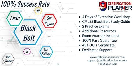 Lean Six Sigma Black Belt(LSSBB )Certification Training in Charlotte tickets