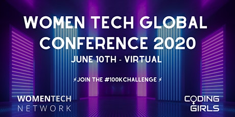 WomenTech Global Conference 2020 (Eastern European Time) tickets