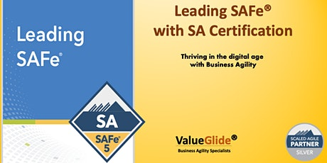 Leading SAFe 5.0 Weekend June 20-21 Singapore tickets