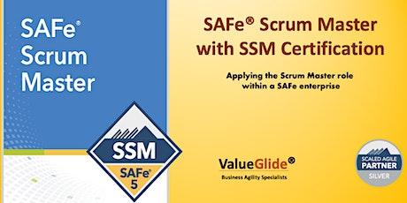 Scrum Master  - SAFe® 5.0 - Hyderabad - VIRTUAL tickets