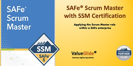 Scrum Master SAFe® 5.0 weekend Course in Singapore tickets