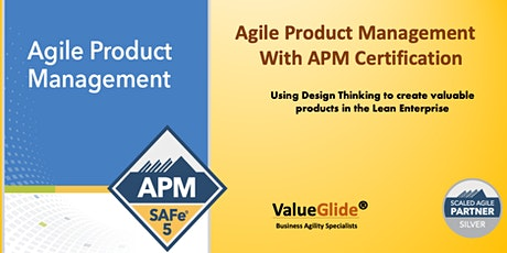 Online - Certified SAFe Agile Product Management, 13-15 April 20  in London tickets