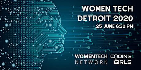 WomenTech Detroit 2020 (Employer Tickets) billets
