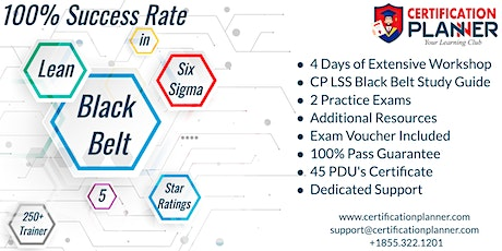 Lean Six Sigma Black Belt(LSSBB )Certification Training in Athens tickets