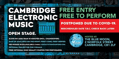 Cambridge Electronic Music Open Stage tickets